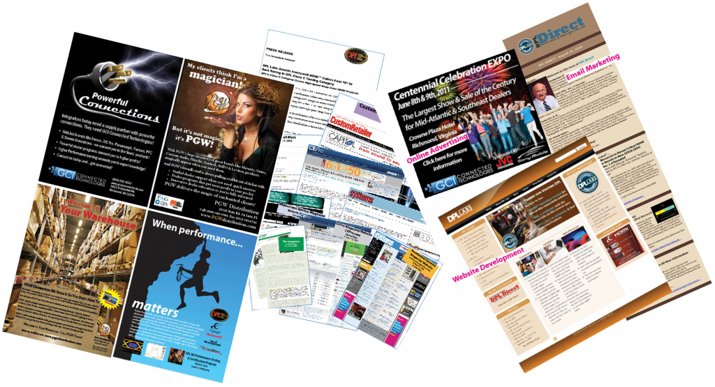 Graphic of Marketing Samples