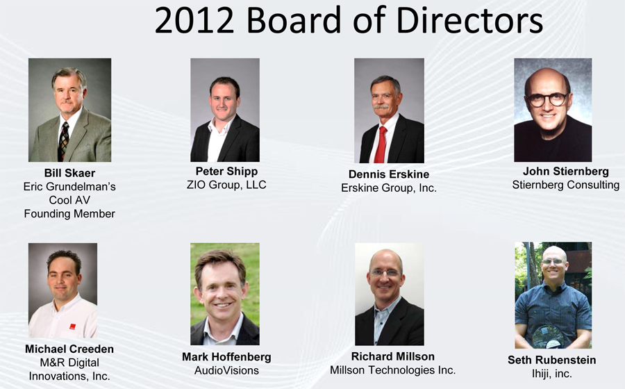 CEDIA Board of Directors