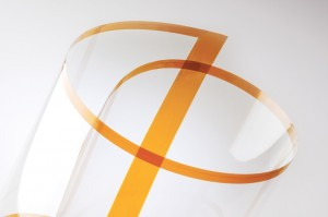 A Roll of Corning's New Willow Glass