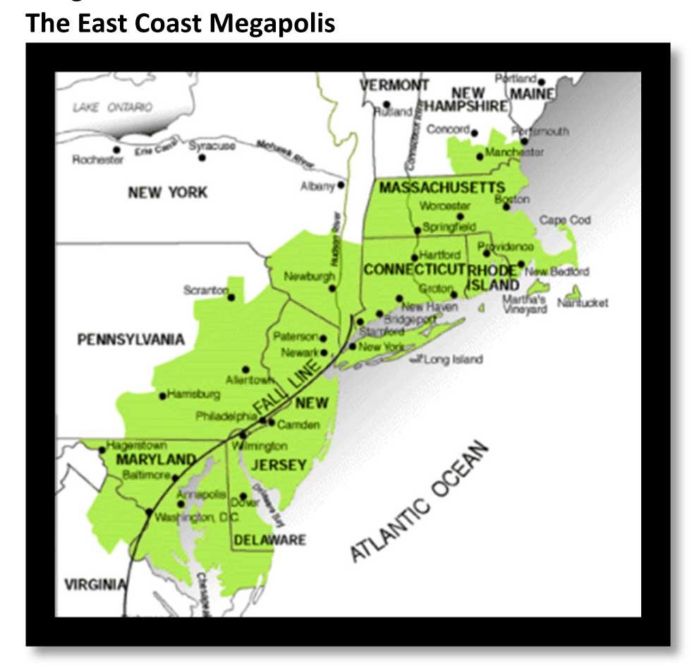 East Coast Megapolis