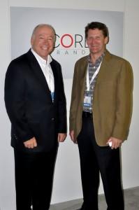 Photo of Bill Pollock, President and Paul Starkey, Senior Vice President, Marketing