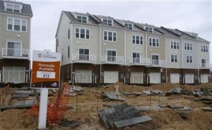 Photo of housing under construction
