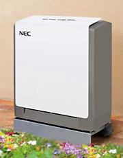 Photo of NEC's residential storage unit.