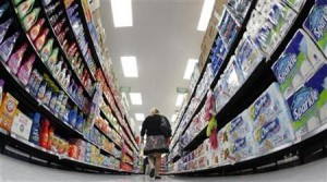 Photo of consumer shopping