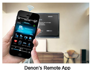 Photo of Denon Remote App