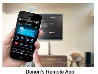 Photo of Denon Remote App