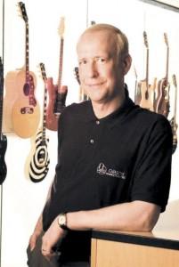 Photo of Gibson CEO Henry Juszkiewicz