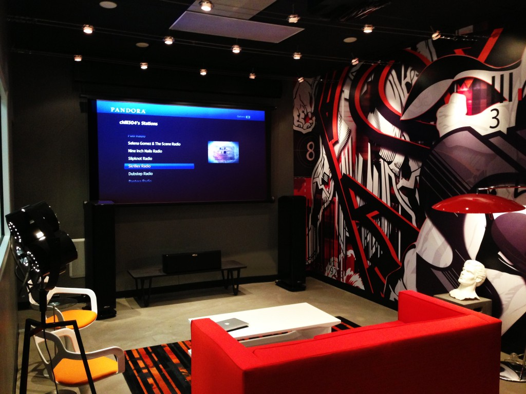 Photo of WAVE demo room