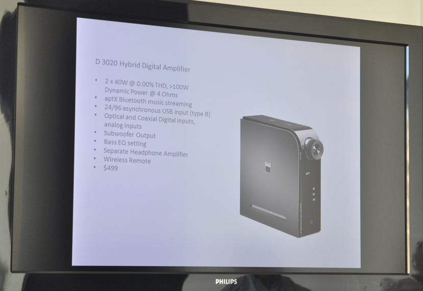 Photo of NAD 3020