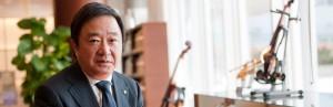 Photo of Mitsuru Umemura, President & Representative Director of Yamaha Corporation
