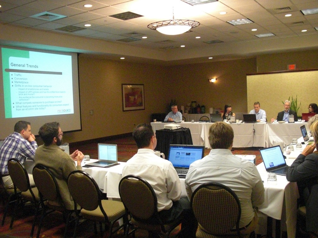 Photo from ProSource e-commerce meeting.