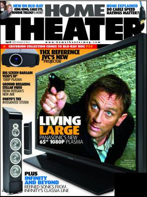 Photo of Home Theater Magazine Cover
