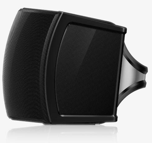 Photo of side-firing speakers