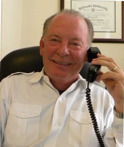 Photo of Richard Glikes in office