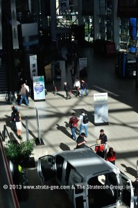 Photo of lobby at Convention Center