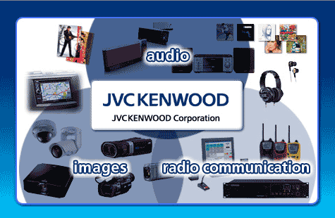 Graphic Showing JVC Kenwood's Business Segments