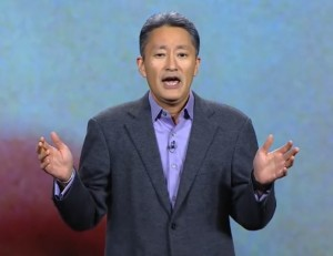 Photo of Sony CEO Kazuo Hirai