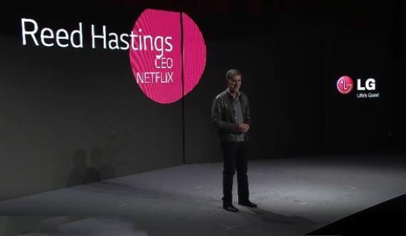 Reed Hastings at LG