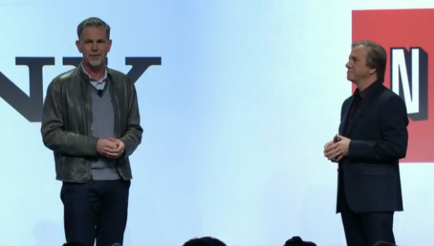 Reed Hastings at Sony