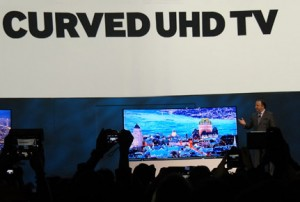 Photo of Samsung's Curved TV Unveiling