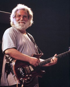 Photo of Jerry Garcia of The Grateful Dead
