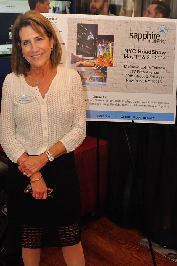 Photo of Sapphire Marketing's Marla Suttenberg