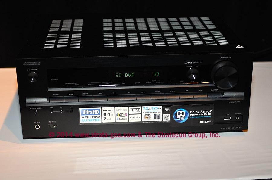 Onkyo Atmos-ready receiver