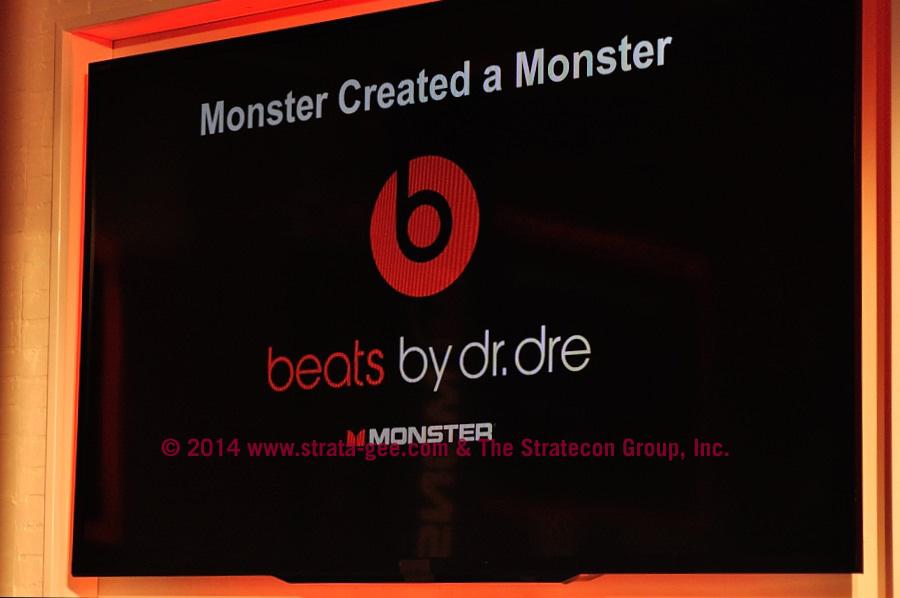 Creating a Monster slide