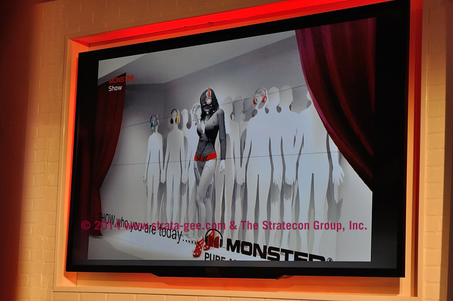 Photo of Monster marketing material
