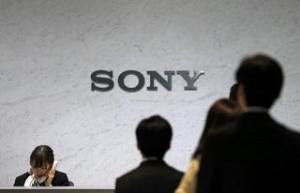Photo showing Sony logo
