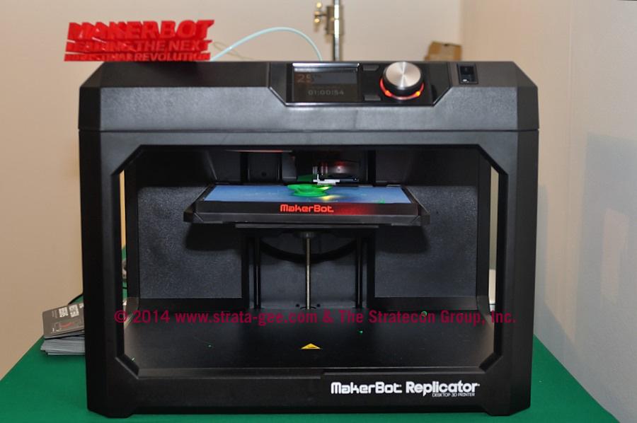 Photo of 3D Printer at CE Week 2014