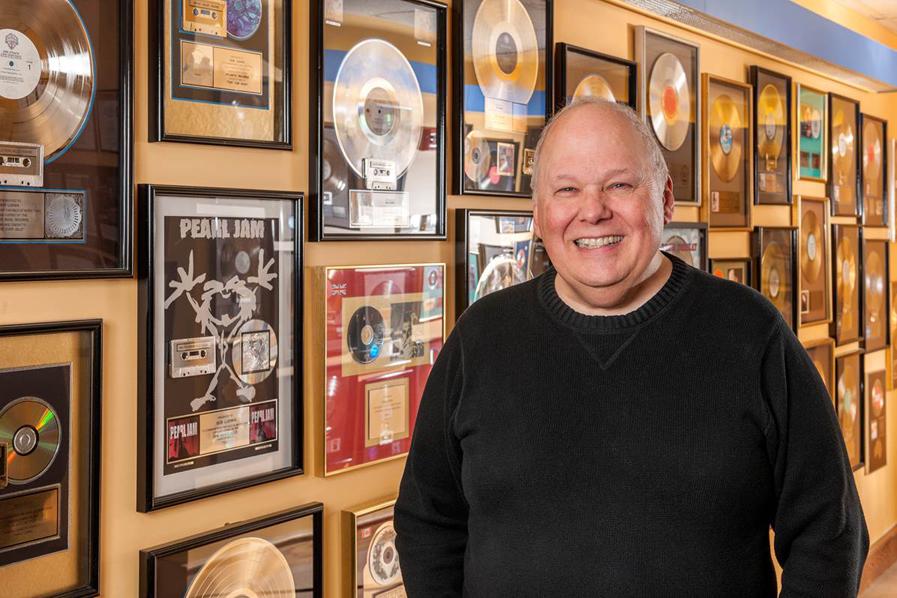 Photo of Bob Ludwig & awards