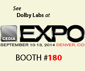 Dolby Expo Booth