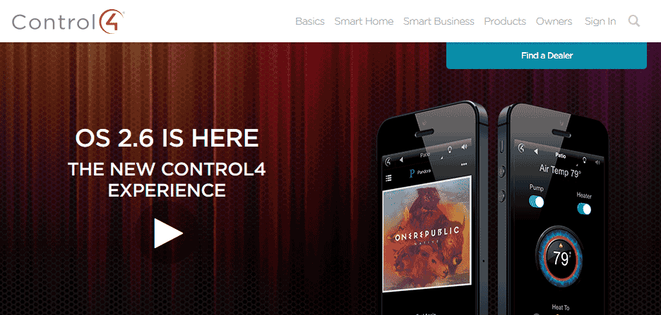 Image from Control4 website