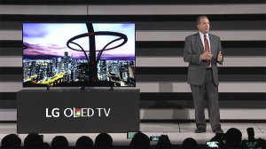 LG OLED at CES 2015
