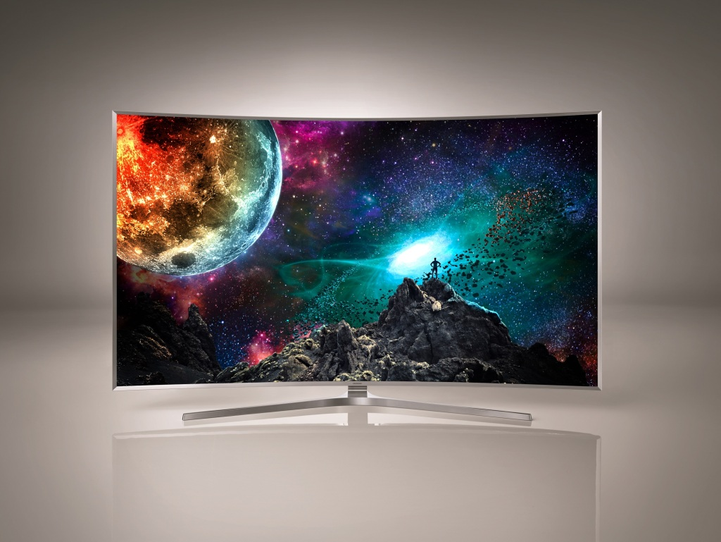Photo of Samsung's new SUHD TV