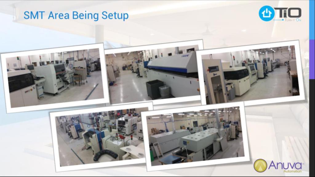 Photo of production facility