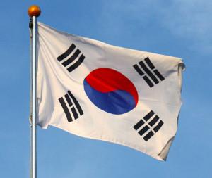 Photo of South Korean flag