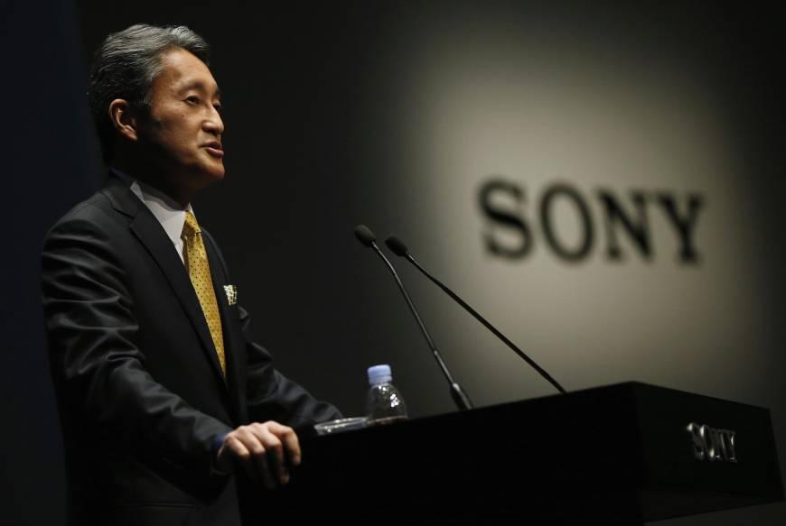 Photo from Sony presentation