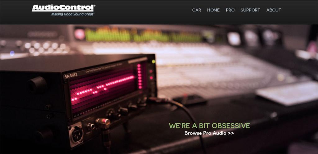 AudioControl Pro section