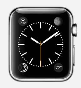 """Photo of Apple Watch """"Complications"""""""