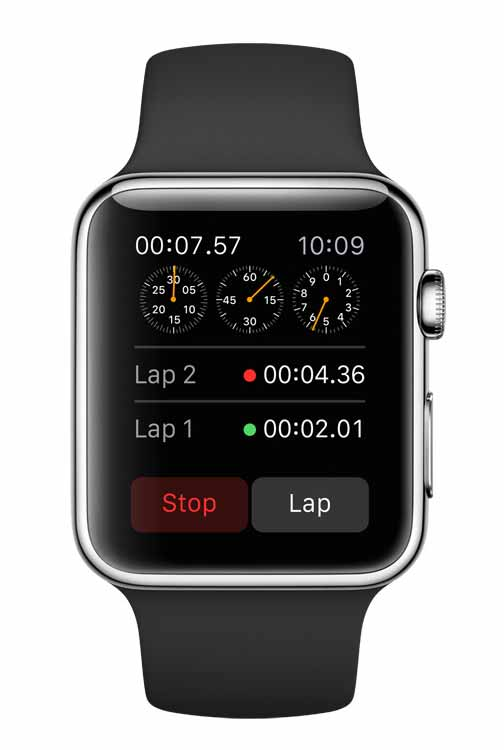 Apple's workout watch