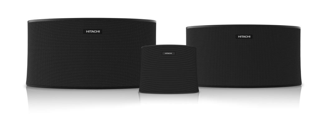 Photo of Hitachi wireless speakers