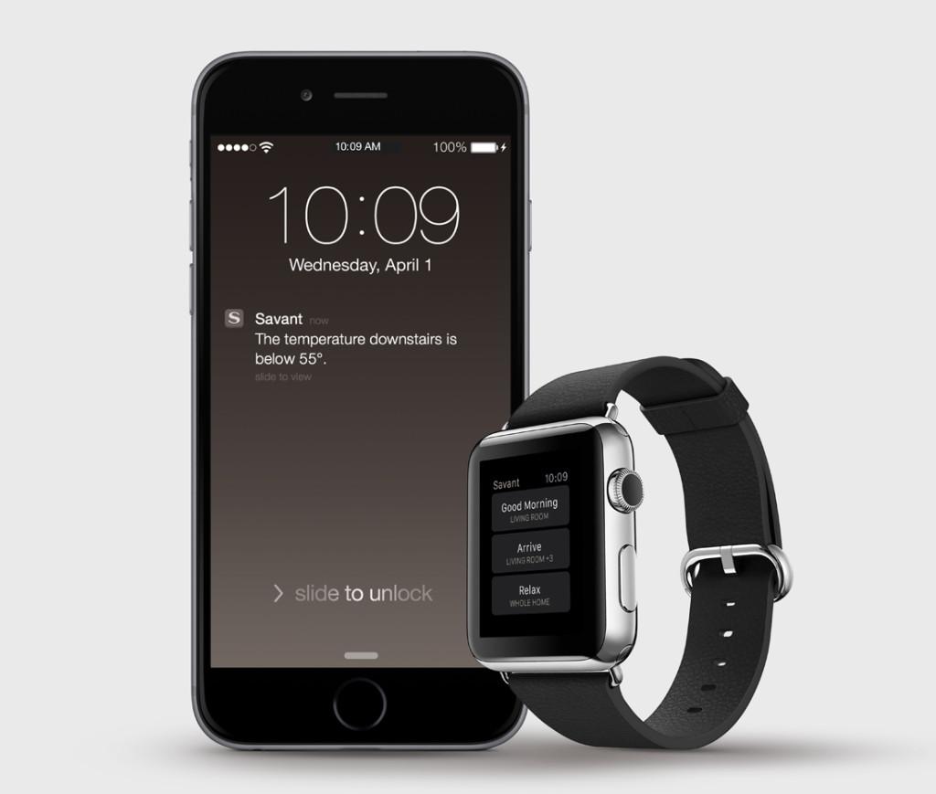Savant App for Apple Watch