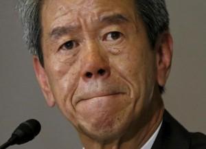 Toshiba CEO Hisao Tanaka