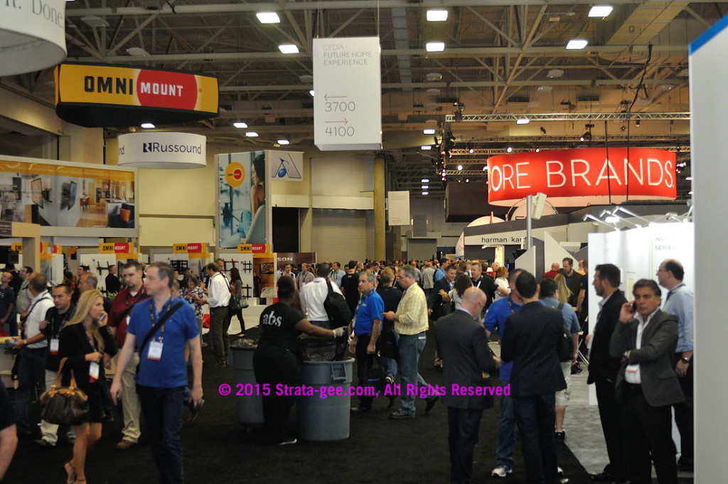 Photo of Expo crowd