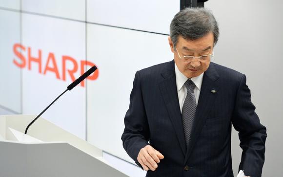 Sharp President Takahashi
