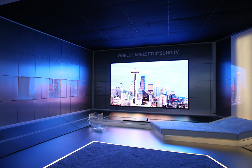 Samsung 170-inch SUHD TV