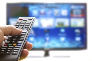 Graphic of digital TV