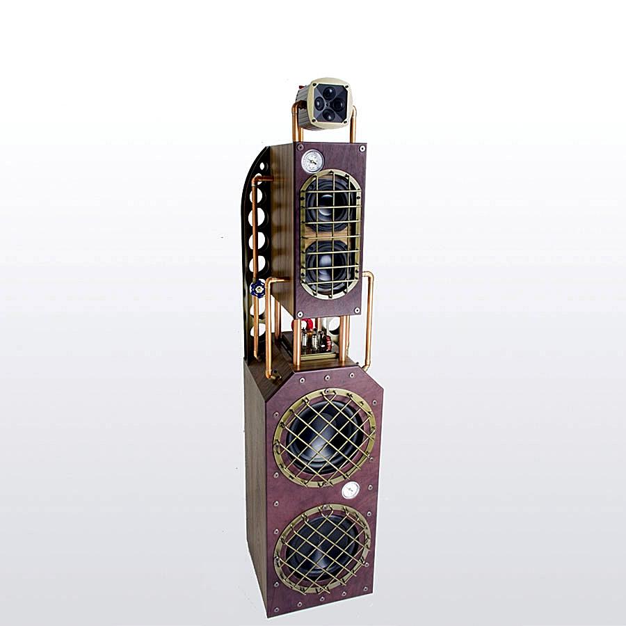 James Loudspeakers Steampunk speakers